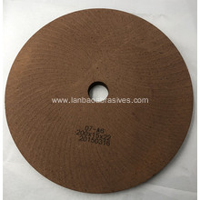 High speed BD polishing wheel for glass machine